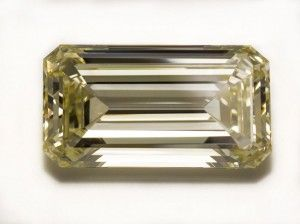 "The famed 55 ct. Kimberley Diamond is making its first public appearance at the American Museum of Natural History in New York City this month. The stone, which is on loan from the Bruce F. Stuart Trust, will be on display in the Morgan Memorial Hall of Gems through at least June 2014, a museum spokeswoman says. The 55.08-ct. champagne-colored gem, described by the exhibit's curator as ""virtually flawless,"" is historically important because it was found in the 19th century at the Kimberely…"