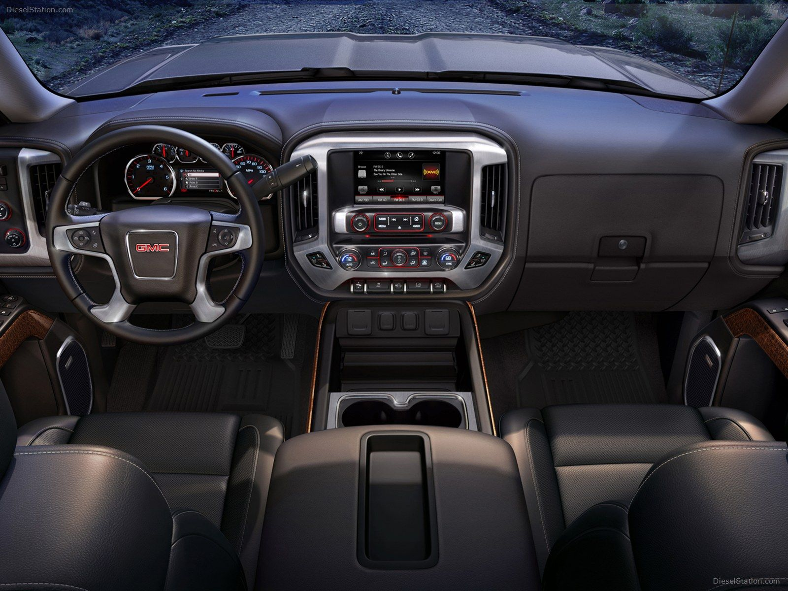 View the gallery of interior photos of the 2018 gmc sierra 1500 light duty pickup truck s premium and refined interior