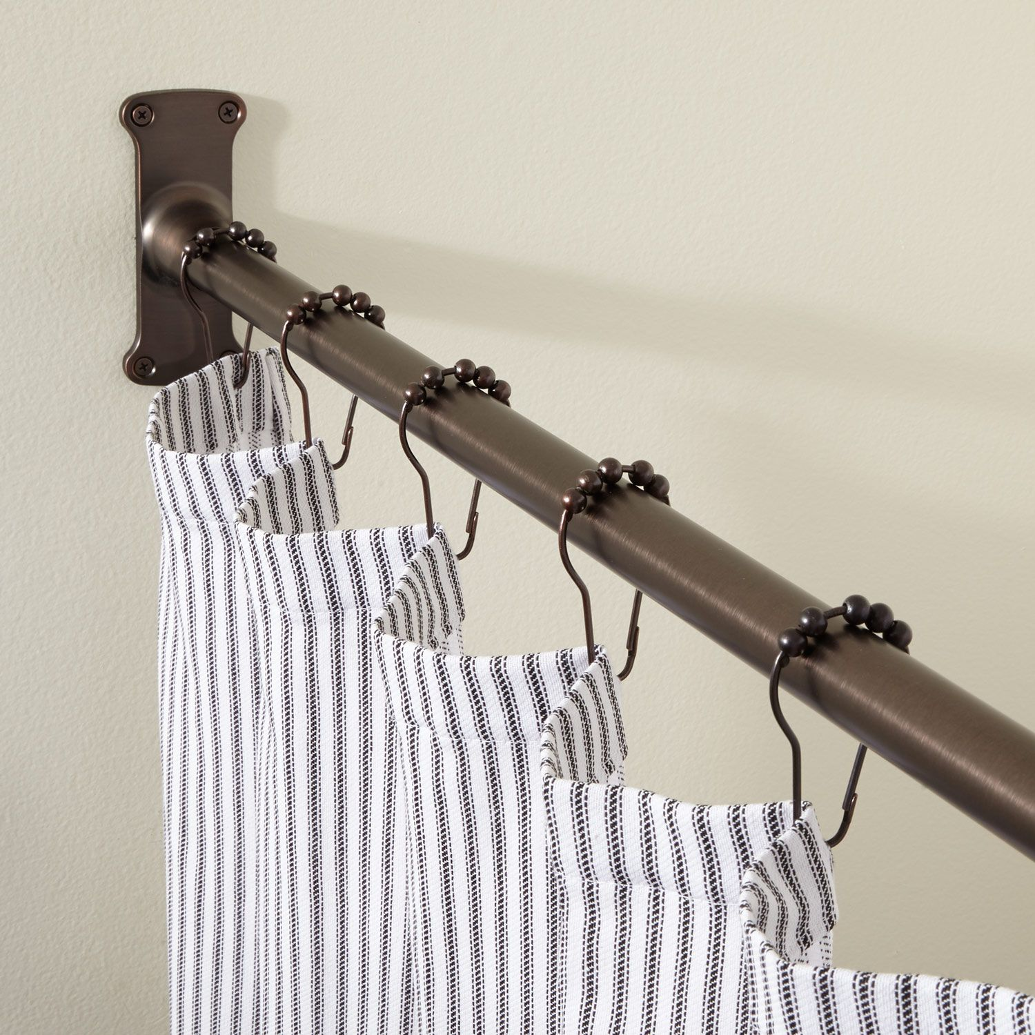 Shower Curtain Rods Image By Trish Taft On Door Curtains Portieres In 2020 Curtain Rods Curtains