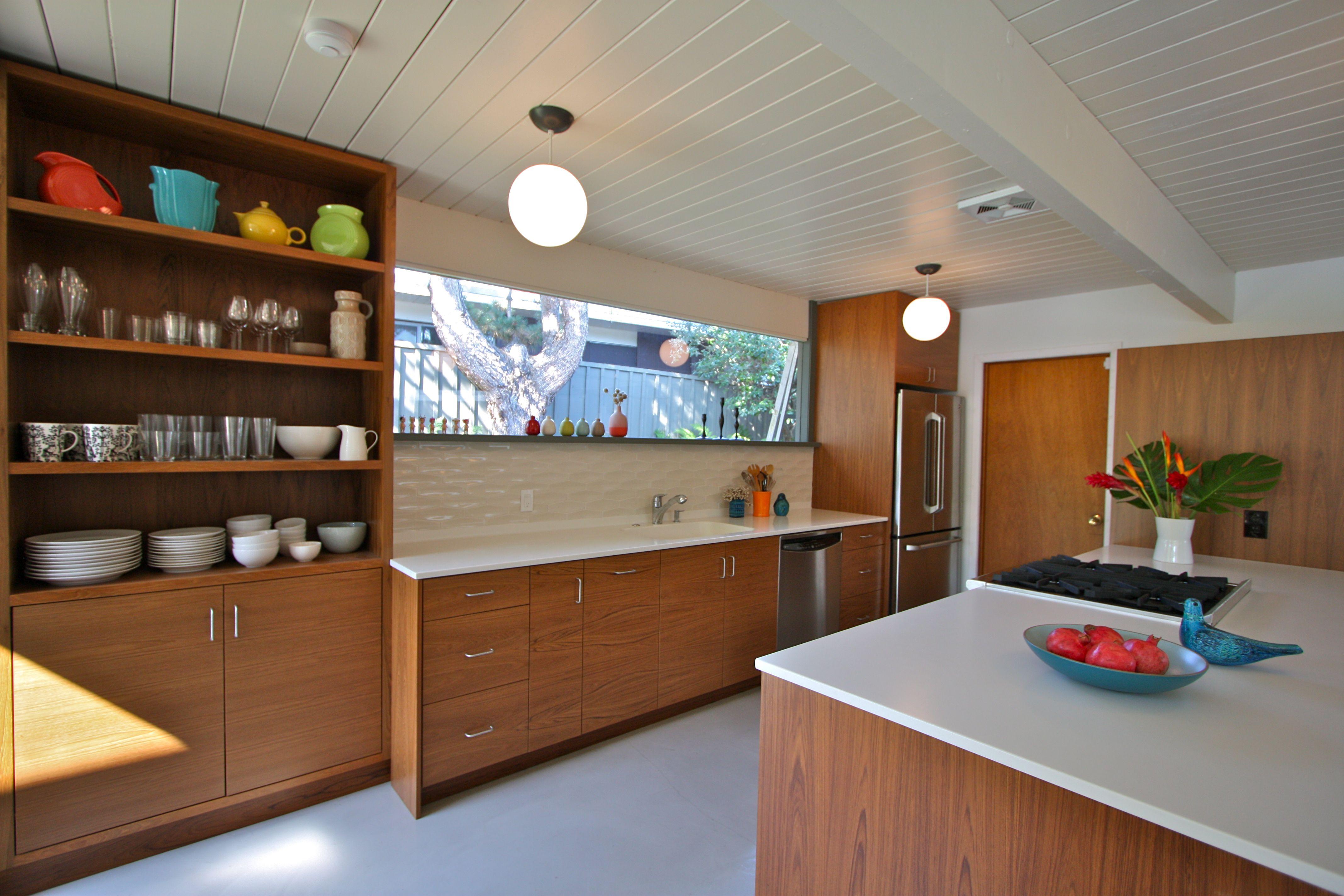 One of my favorite projects: my pal Ki Rubin's Eichler kitchen I got ...