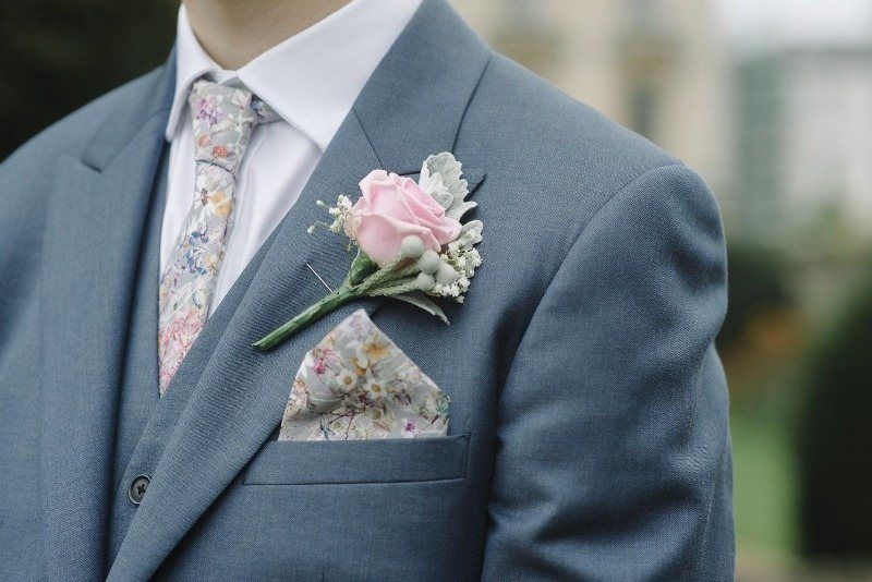 Wedding Ties Pocket Squares Wild Flowers Liberty Print Unique Weddings Hand Sching Bespoke Lawn Bouquets