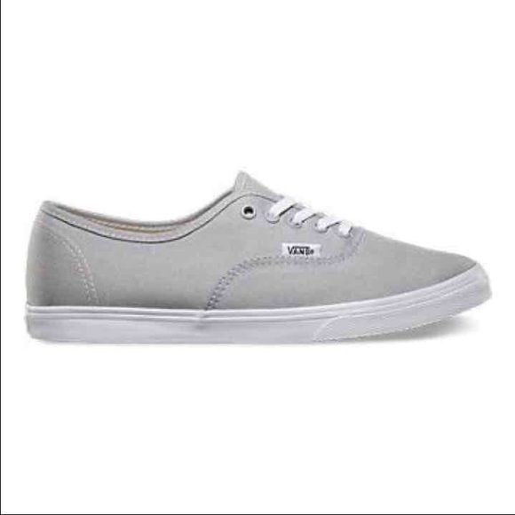 Carries New Womens Athletic Shoes - Vans Authentic Lo Pro (Floral Chambray) Blue/True White