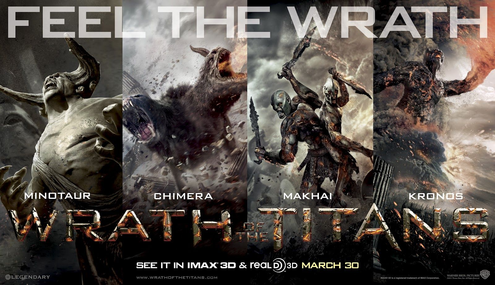 Feel The Wrath Of The Titans I Did And It Was Awesome Wrath Of The Titans Clash Of The Titans Wrath