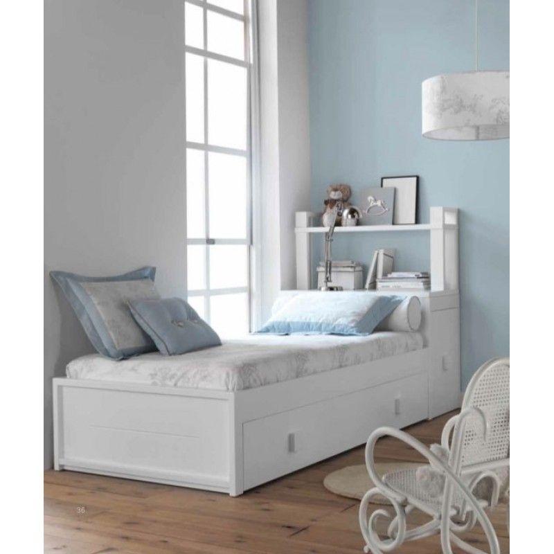 Cama Nido Luxury Lines | Habitacion juvenil | Pinterest | Camas nido ...