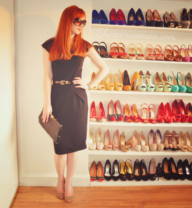 shoe per woman
