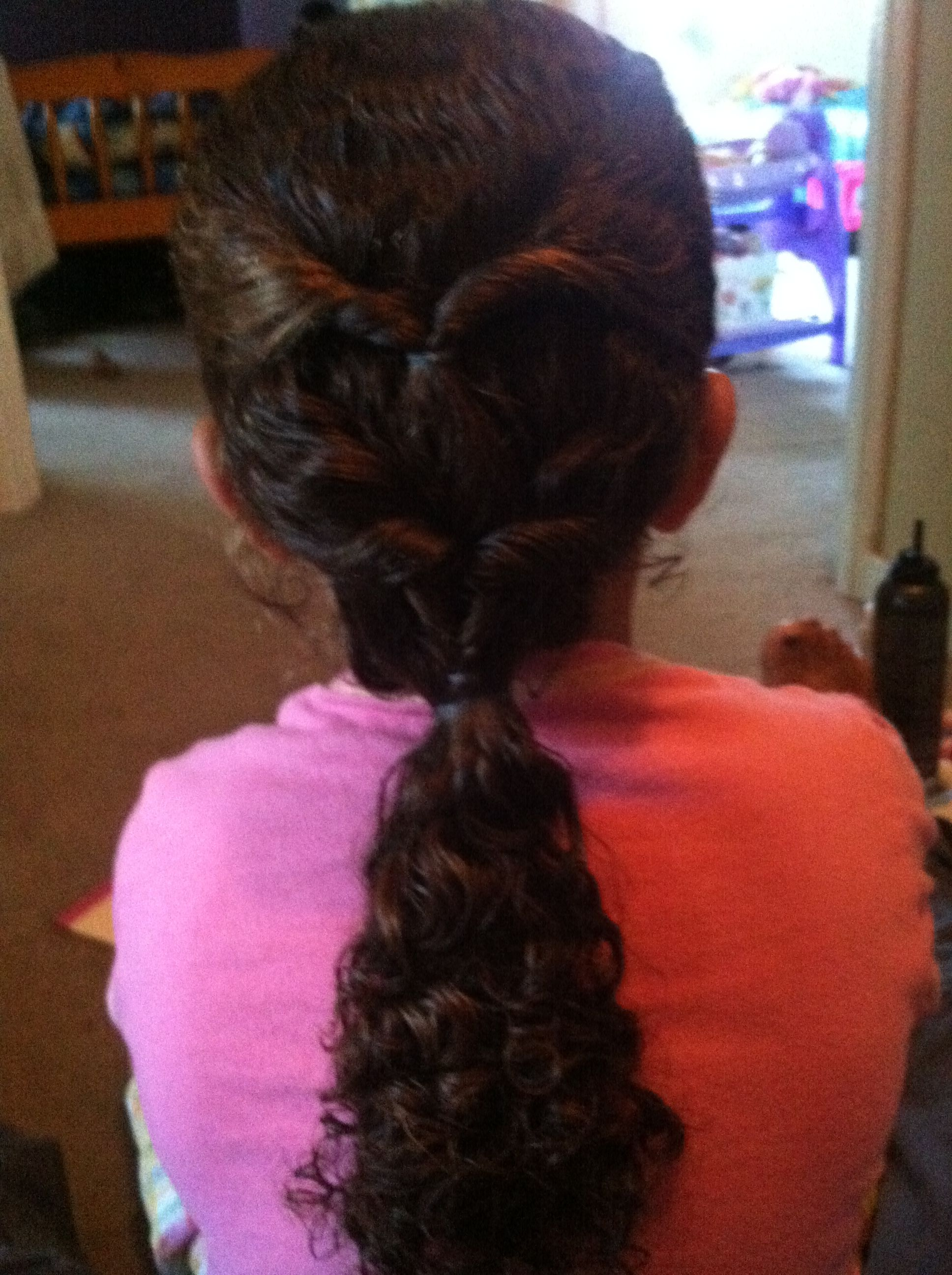 Got this hairstyle from cute girl hairstyles on you tube eden and