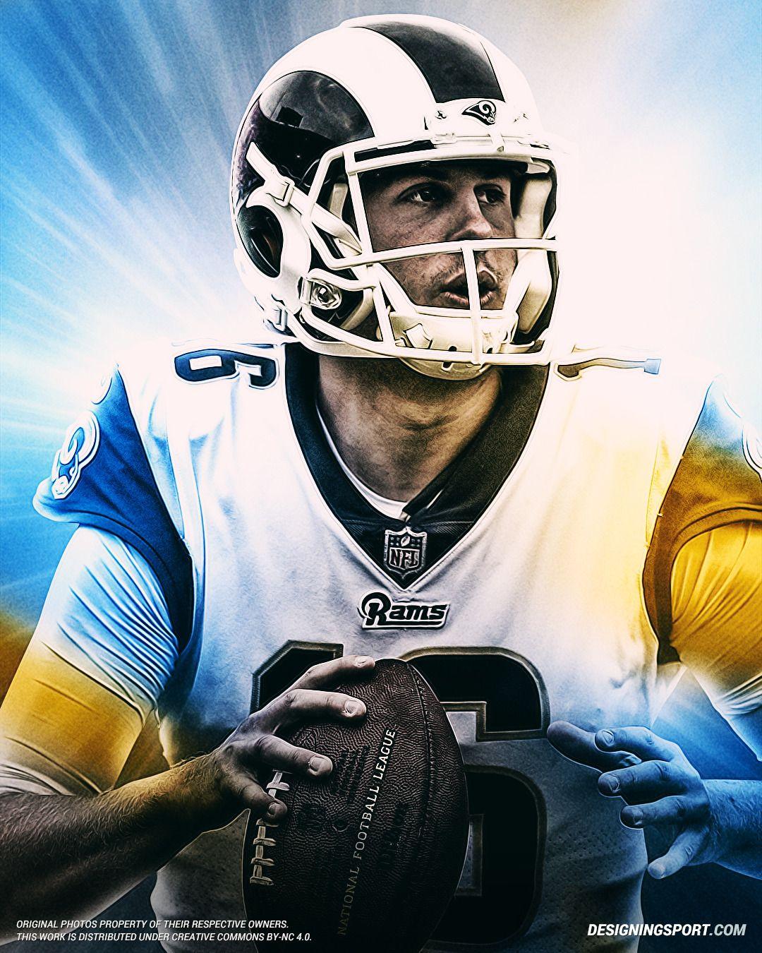 Jared Goff Los Angeles Rams Los Angeles Rams Jared Goff La Rams