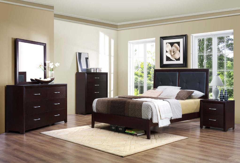 Homelegance Edina Collection 2145 Espresso Cherry Bedroom Set Savvy Discount Furniture Wood Bedroom Sets Bedroom Sets Bedroom Sets Queen