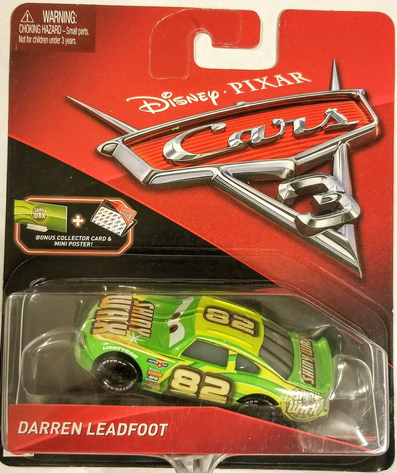 Disney Pixar Cars 3 Darren Leadfoot Die Cast Character Car