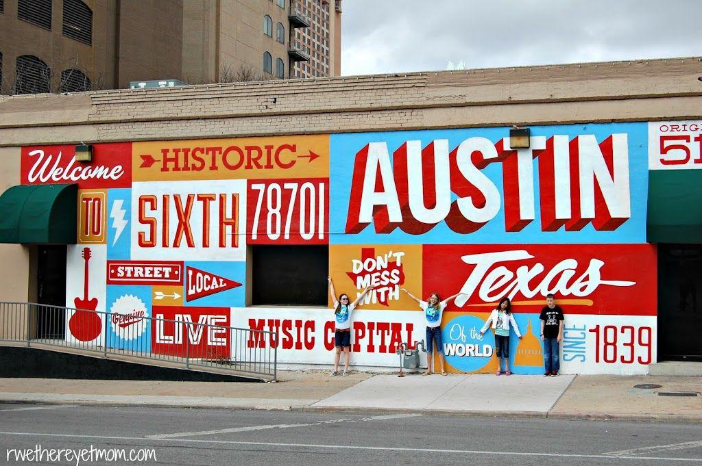 Austin Murals Photo Scavenger Hunt Austin Tx Austin Murals Photo Scavenger Hunt Murals Street Art