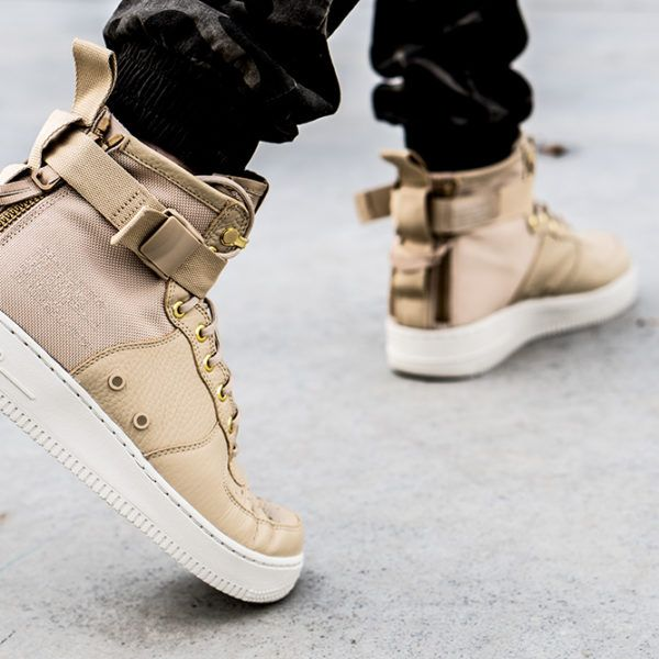classic fit 549ae ef373 Nike SF Air Force 1 Mid Mushroom | Sneakers in 2019 ...