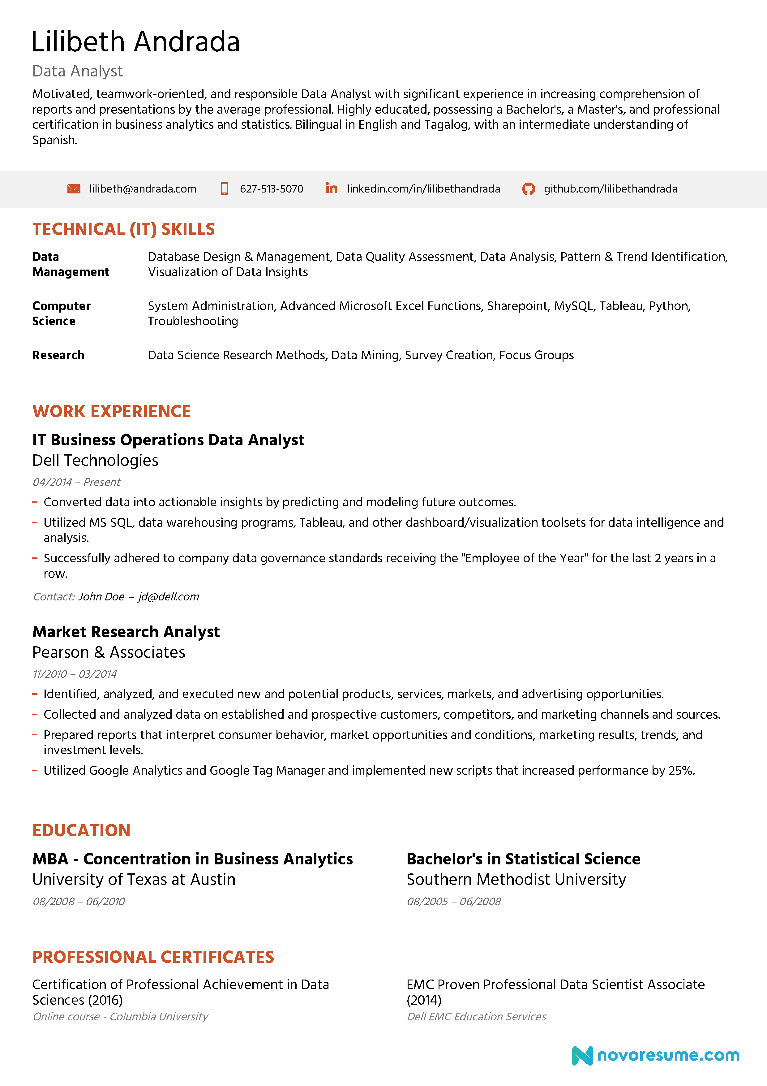 Image result for resume examples Professional resume