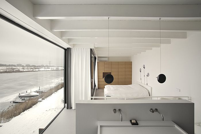 Minimalist house in Amsterdam, NAT Architecten