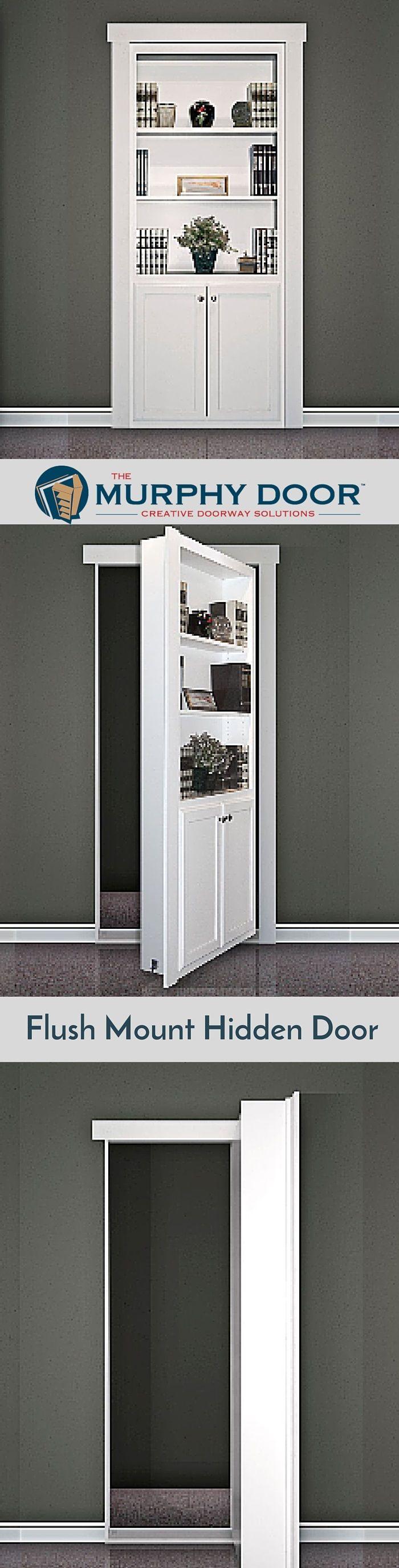Superior The Flush Mount Hidden Door Is Perfect Creative Solution For Your House.  #hiddendoor