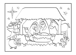 christmas greeting cards coloring pages | Personalised Christmas cards are a fun way for your child ...