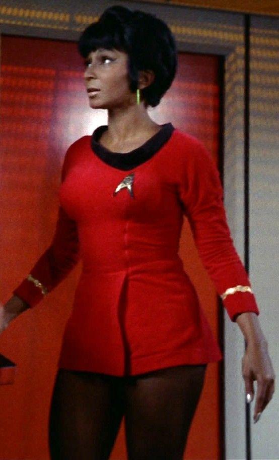 Lt. Uhura - AKA Nichelle Nichols - Star Trek 1966 ®.