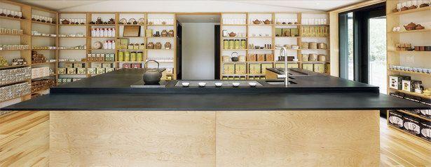 J-Tea (boutique retail) | Waechter Architecture | Archinect