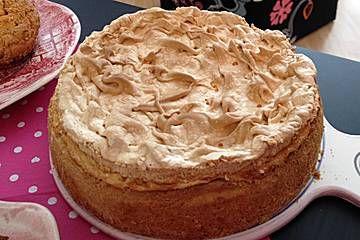 Mandarinen Quark Kuchen Mit Baiserhaube In 2018 Backen