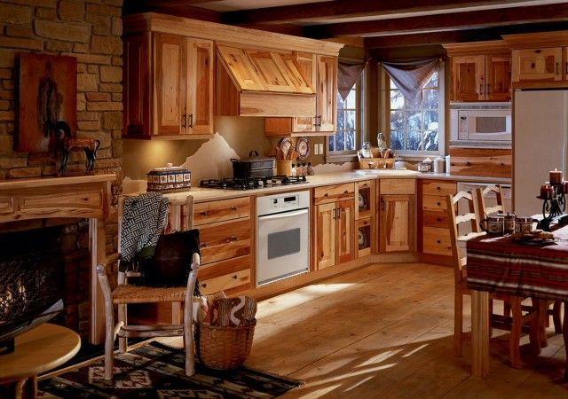 decoration dining-set-and-kitchen-cabinetry-system-with-brick-wall-panel-combine-wooden-exposed-in-rustic-decor-vintage-kitchen-designs-old-fashioned-yet-artistic-