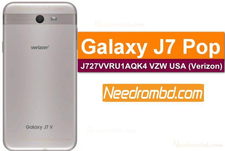 Samsung J7 Pop SM-J727V VZW-J727VVRU1AQK4 Rom | Smartphone