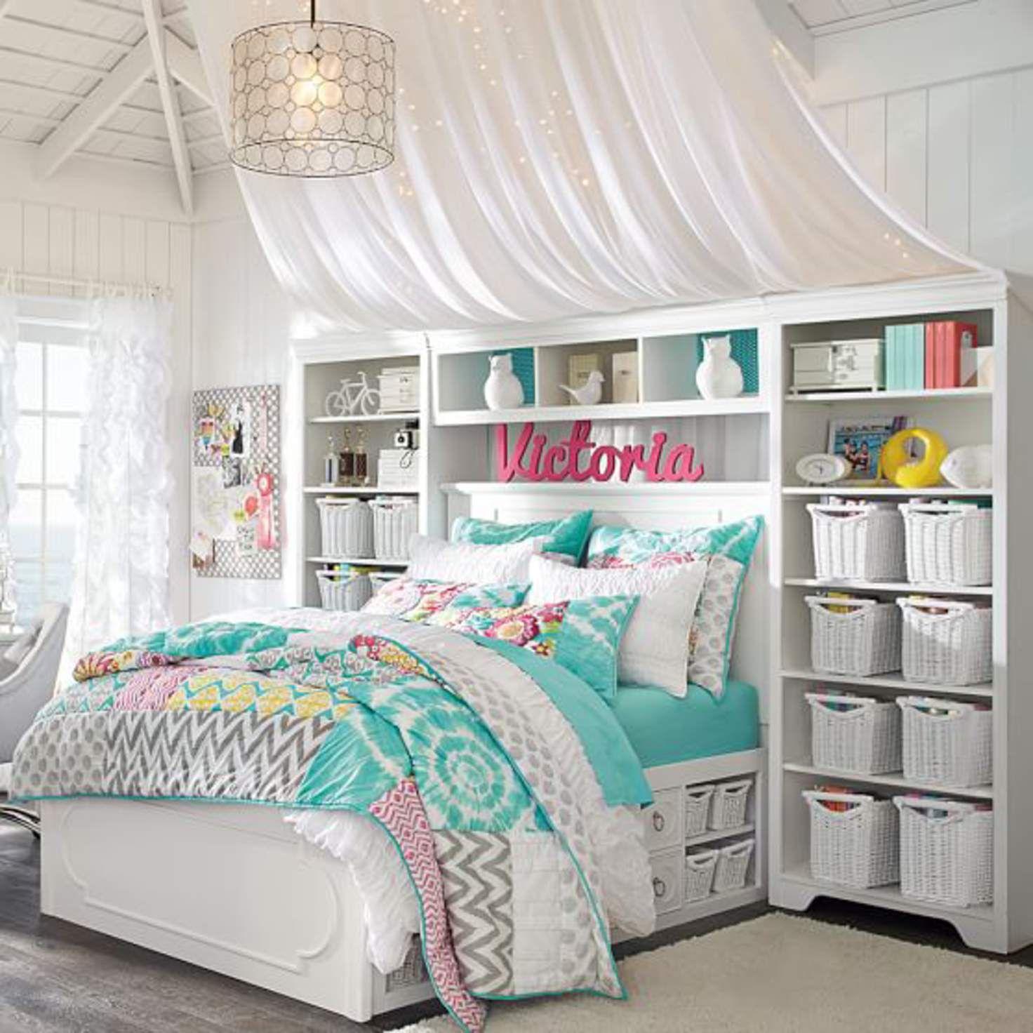 Shelby Storage Bed Super Set Tween girl bedroom, Girl