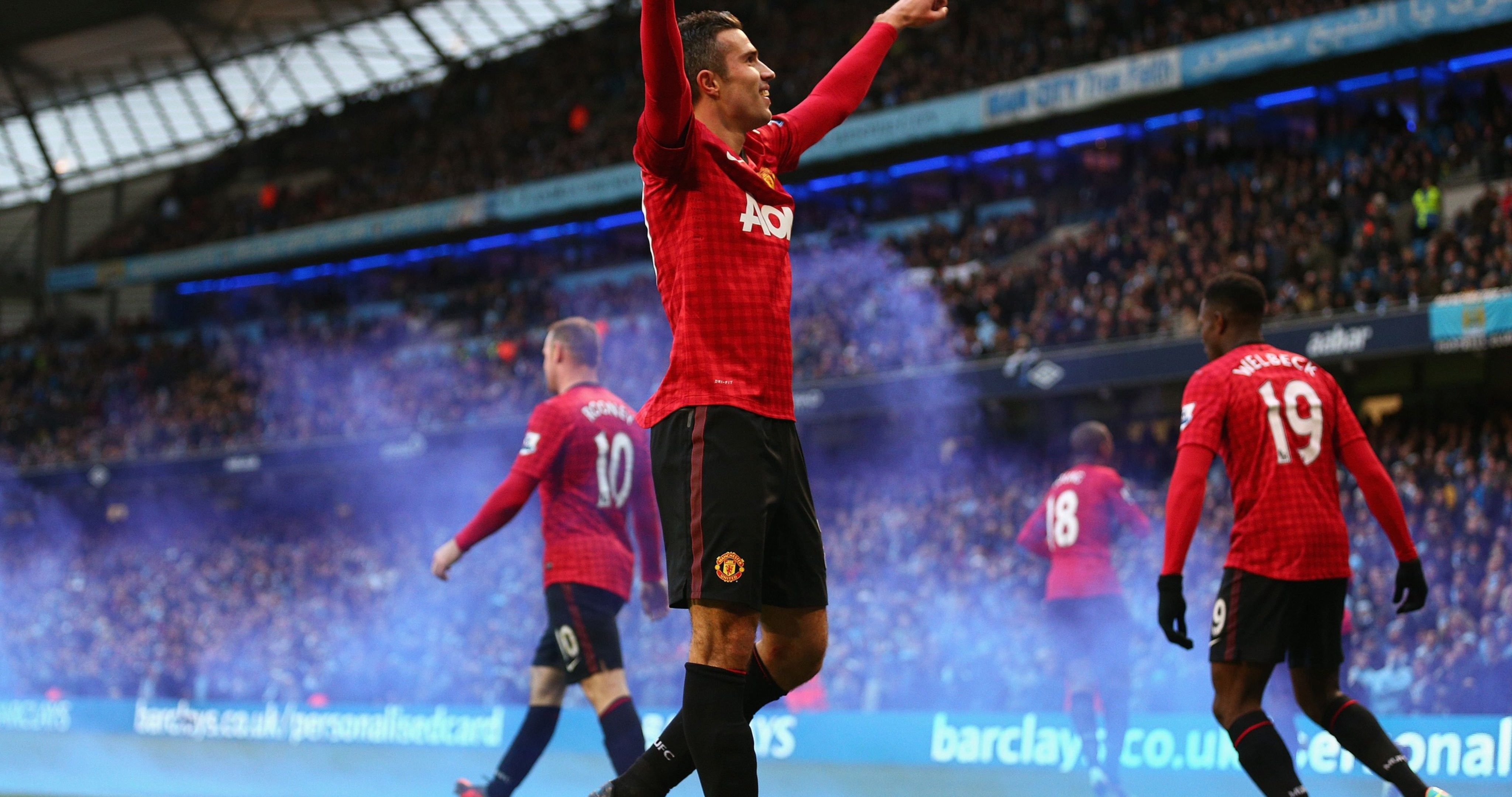 Robin Van Persie Manchester United Club 4k Ultra Hd Wallpaper Manchester United Premier League Robin Van Persie Manchester United Club