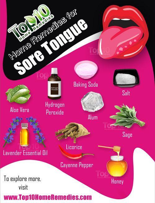 Home Remedies For A Sore Tongue Tongue Sores Sore Tongue