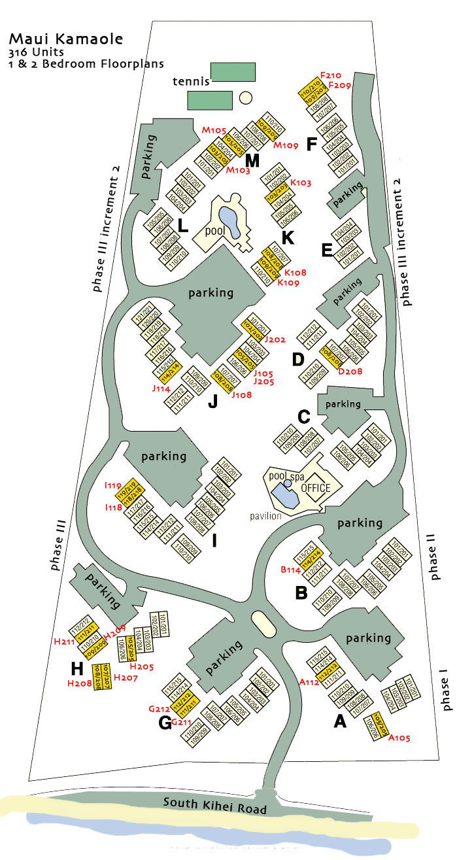maui kamaole map of property - Google Search   Travel in 2019   Maui on kiahuna plantation property map, maui banyan property map, wailea beach villas property map, kihei akahi property map, makena surf property map,