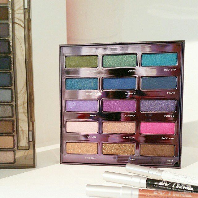 Urban Decay Holiday 2015 palette sneak peek - wow! for deep end and omen alone...this shall be mine