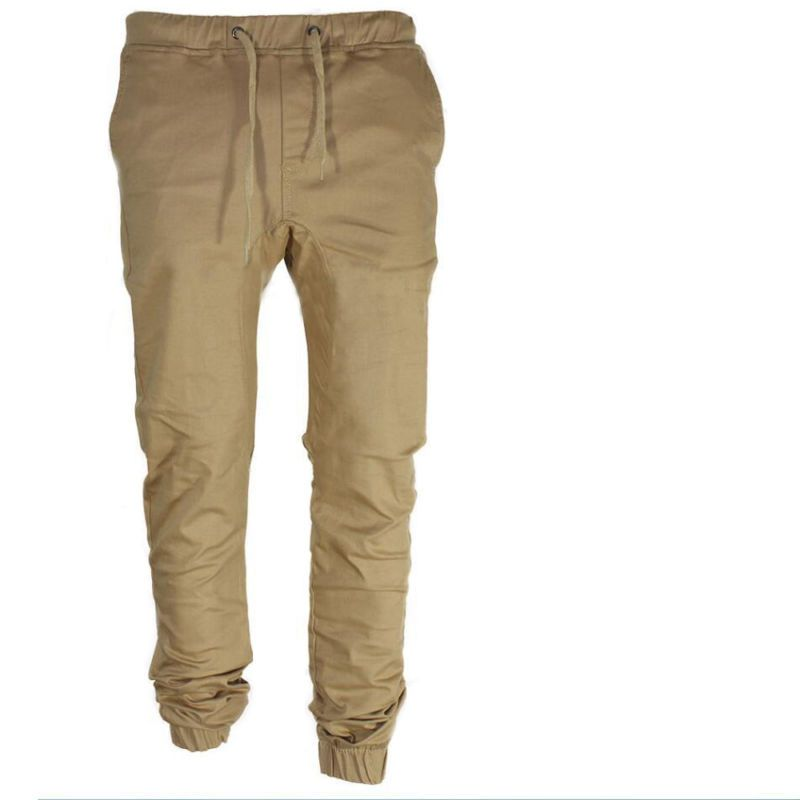 ca8149bfd0acee Details about Men's Twill Jogger Pants Urban Hip Hop Harem Casual ...