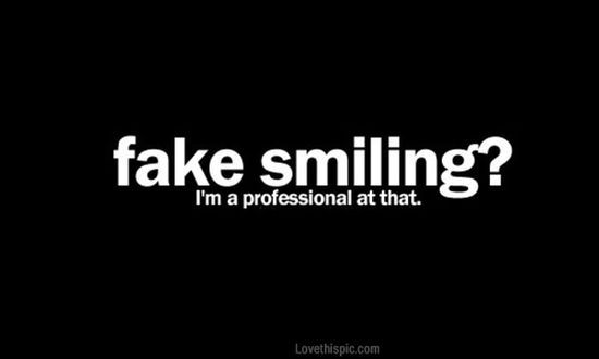 fake smiling quotes depressive dark emo sad sad | http ...