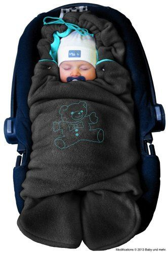 Swaddling Wrap, Car Seat And Pram Blanket For