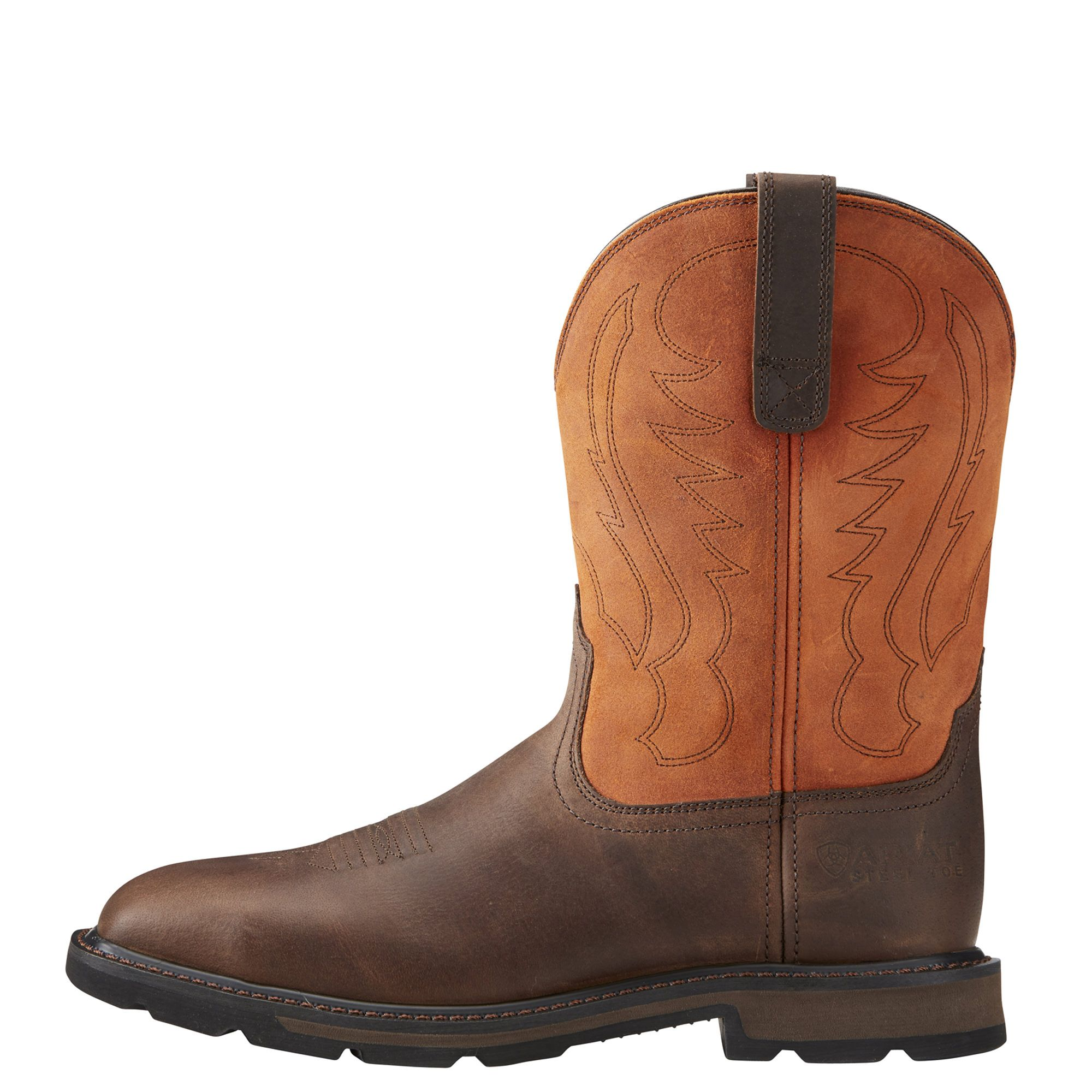 Groundbreaker Wide Square Toe Steel Toe Work Boot Boots Steel Toe Work Boots Steel Toe
