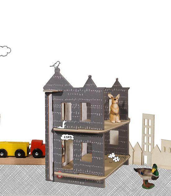 flatpack dollhouse!