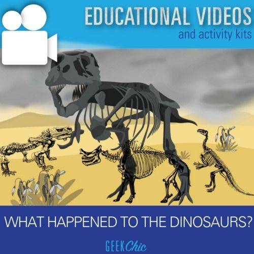 How did dinosaurs go extinct? Video and Activities #historyofdinosaurs