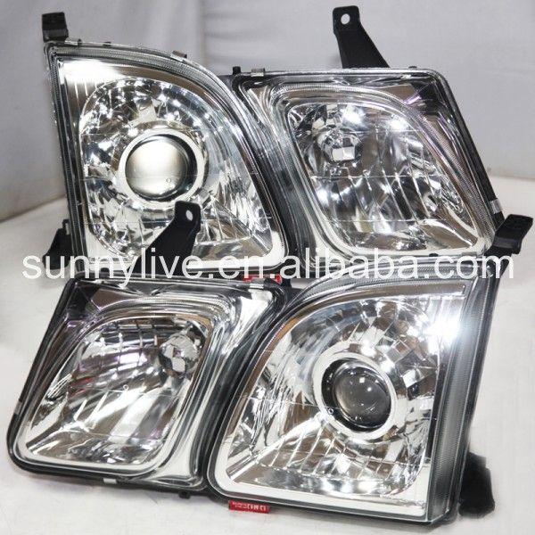 For Lexus Lx470 Head Lamp 1998 2003 Year White Lexus Lx470 Car Lights Lexus
