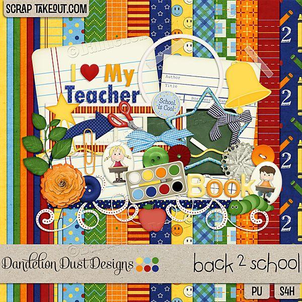 Back 2 School By Dandelion Dust Designs