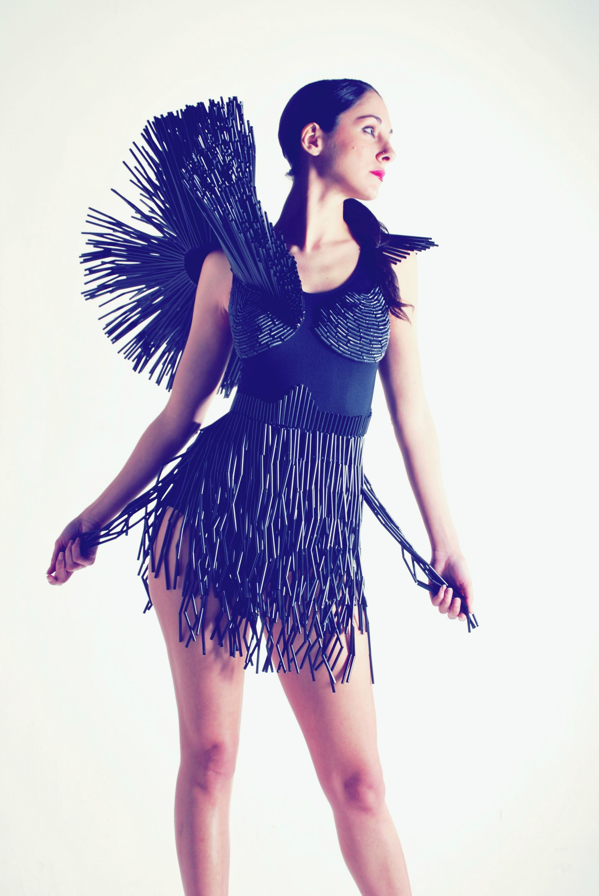Con curvas y a la moda: Vestido reciclado | Disfraces | Pinterest ...