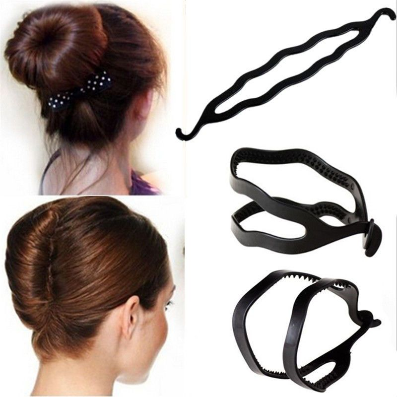 3pcs Womens Hair Twist Styling Clip Stick Bun Maker Braid Tool Hair Accessories Twist Hairstyles Hair Womens Hairstyles