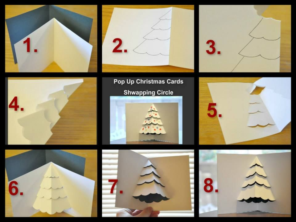 How to make your own Christmas cards - Christmas card DIY ideas ...