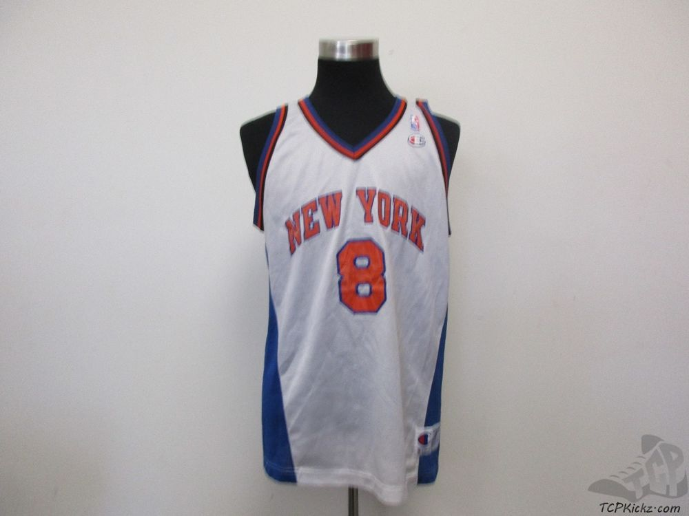 8a0a0377f Vtg 90s Champion New York Knicks Latrell Sprewell  8 Basketball Jersey sz  48 NBA  Champion  NewYorkKnicks  tcpkickz