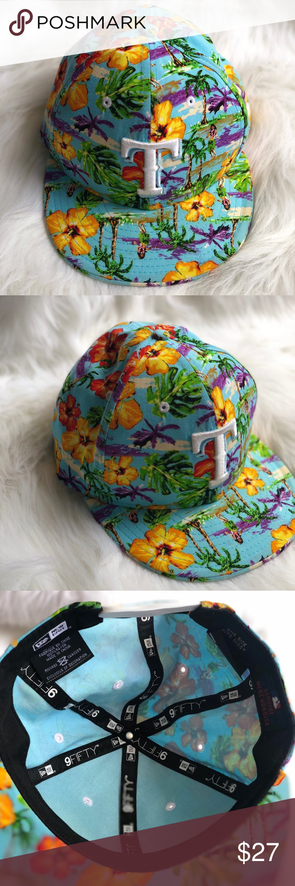 2bfbff25902 ... sweden texas rangers hawaiin baseball cap very stylish texas rangers hat.  floral hawaiian design.