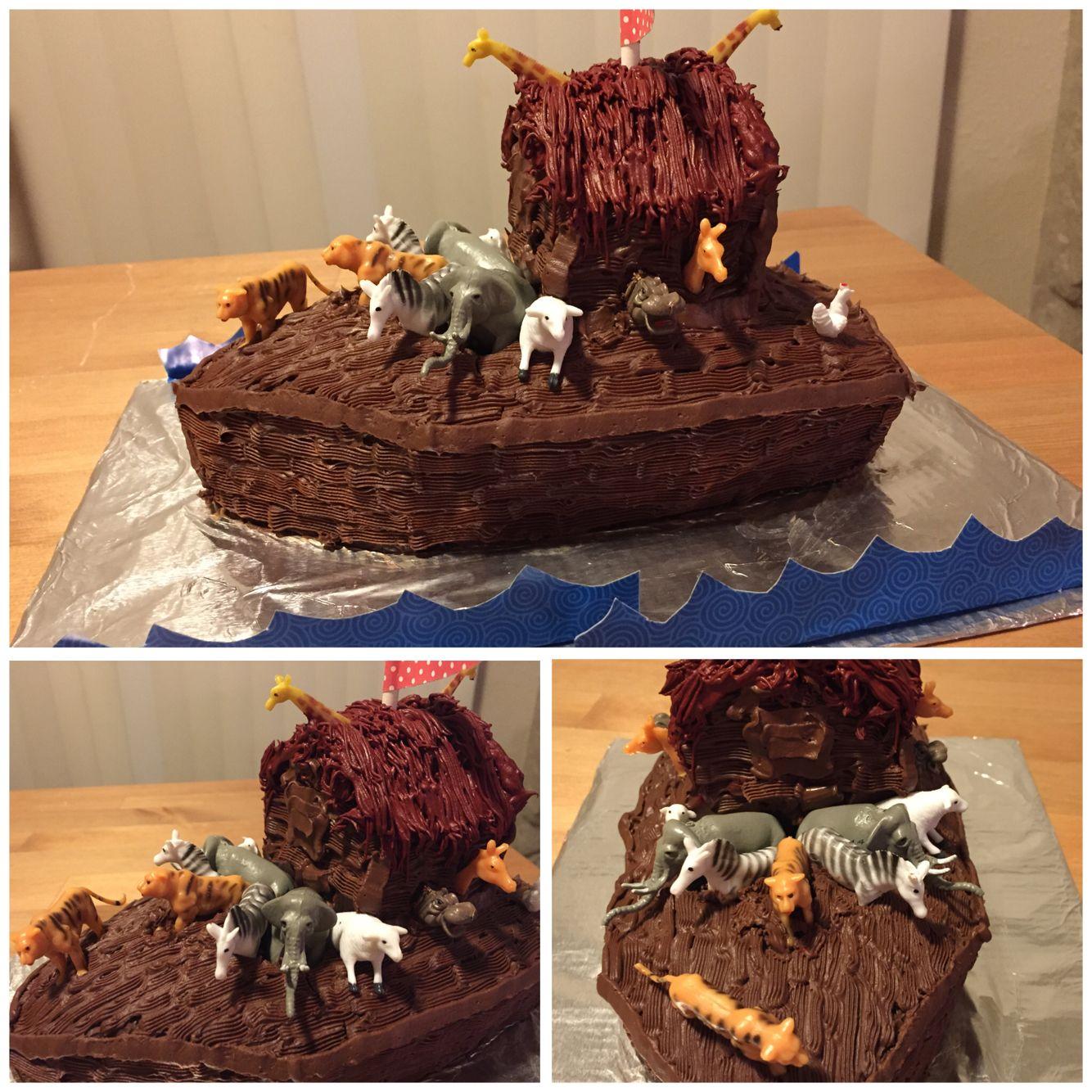 Noahs Ark Smash Cake Eggfree dairyfree coconut base icing
