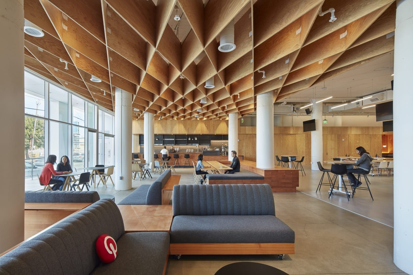 Pinterest headquarters architecture awards interior architecture interior design shade structure office