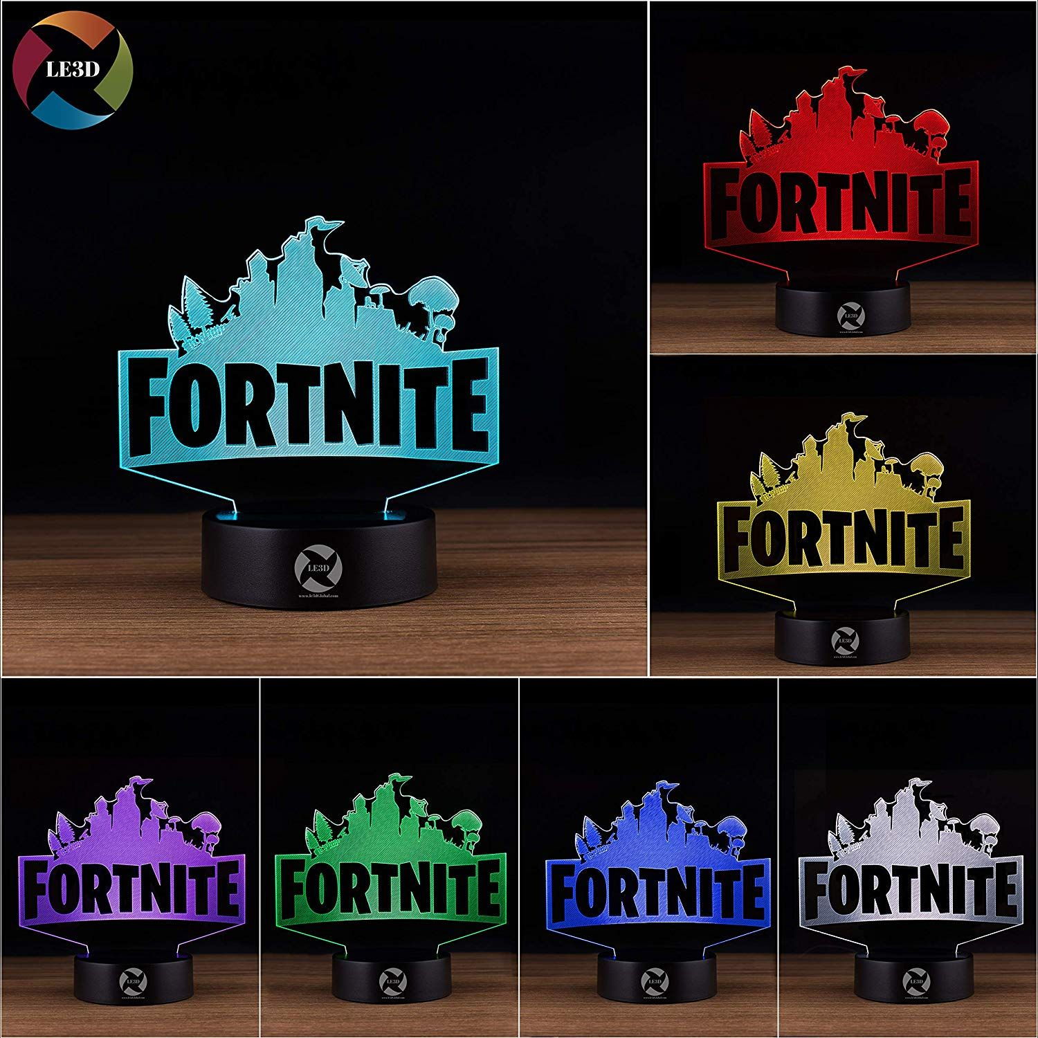 Fortnite Light Color Changing Lamp Color Changing Led Color Changing Lights