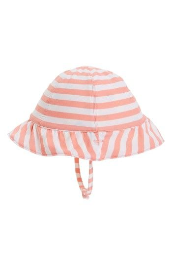 f735f640b27 Free shipping and returns on Tucker + Tate Reversible Ruffle Sun Hat (Baby  Girls)