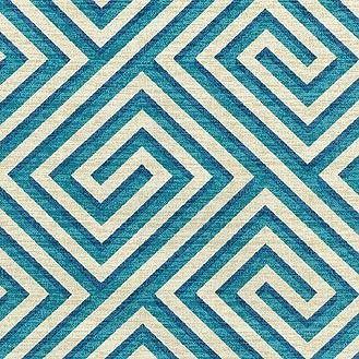 Iman Home Fabric Banji Teal 110234