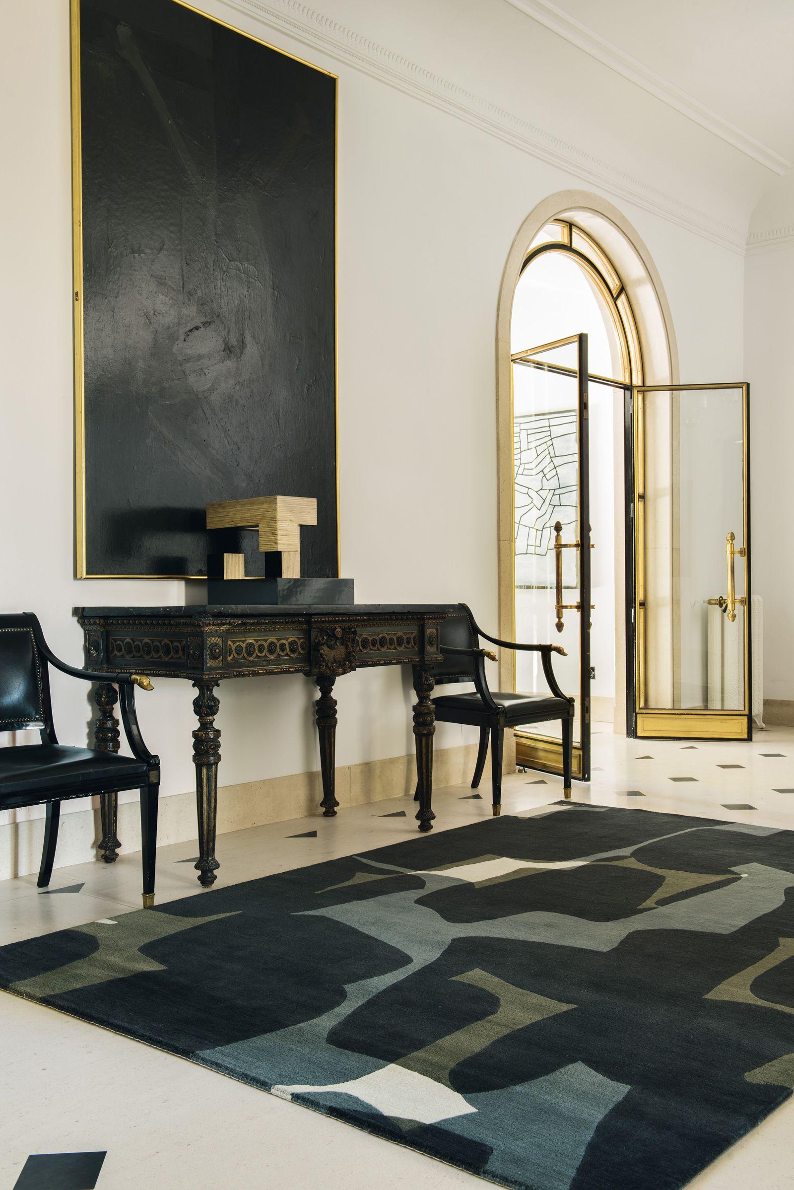Modern hallway furniture ideas  eclectic  Entrances Hallways Corridors Lobbies Foyers