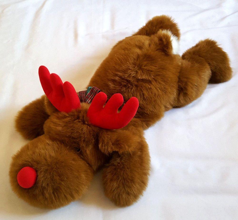 Reindeer Plush Moose Hug And Luv Large Floppy Stuffed Animal 32 Long Floppy Stuffed Animals Reindeer Plush