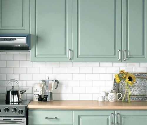 Mint Green Kitchen Cabinets Perfect For My Dream Laundry